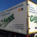 camiones para la mudanza de Mudanzas atance