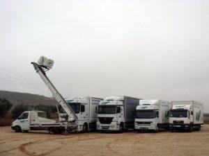 flota de camiones para la mudanza de Atance Mudanzas- Servicio de Mudanzas