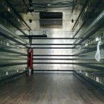 interior de los camiones de Mudanzas Atance
